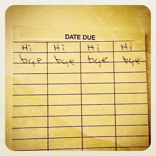 07.11.12: date due           #photoaday #dailyphoto | by PJ Taylor Photo