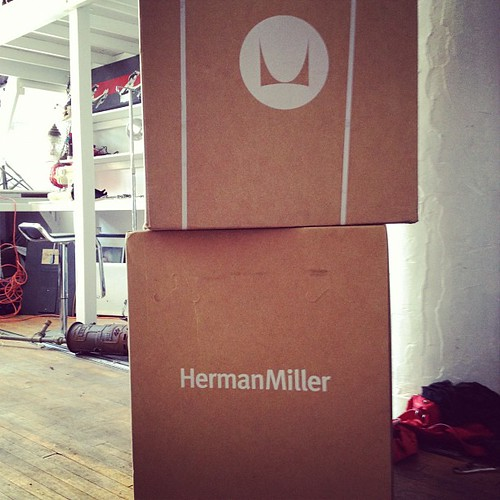 Yay chairs! Merry Xmas from Herman Miller. | by Cyberoptix™