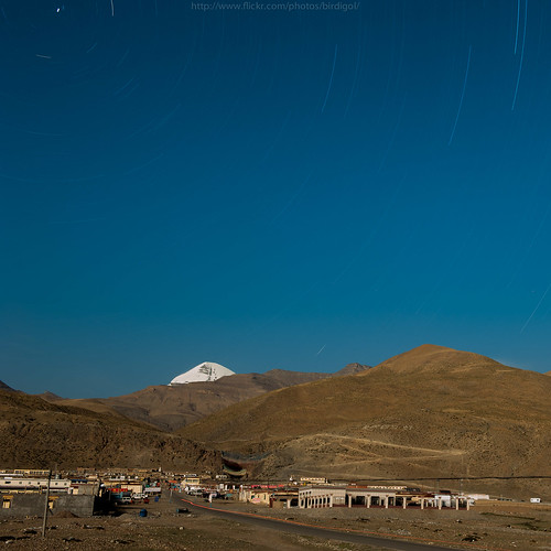 Startails at the holy Mt.Kailash | by BirDiGoL