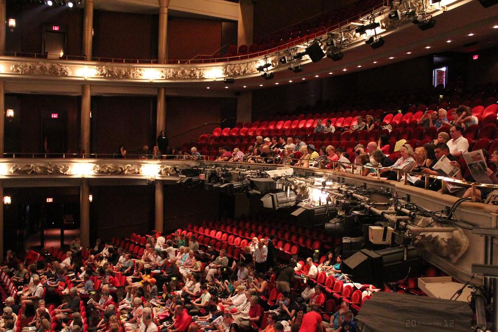 Dress Circle Level Princess Of Wales Theatre