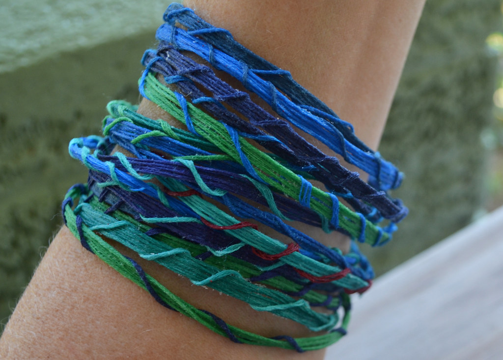 Embroidery Floss Bracelets Amybuthod Flickr