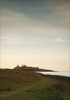 Sunset over Dunstanburgh Castle | by richardharrison34