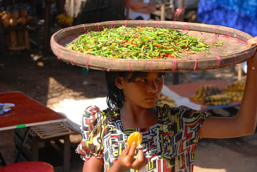 girl selling chilies | by stickychopsticks