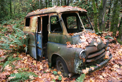 old mail truck kurtclark flickr. Black Bedroom Furniture Sets. Home Design Ideas
