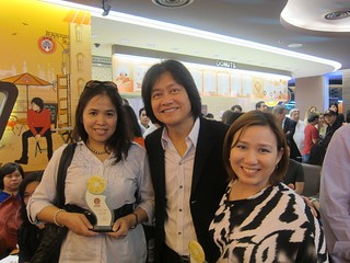 With Johnny Andrean | by annalyn