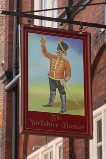 The Yorkshire Hussar pub sign | by Sparky the Neon Cat