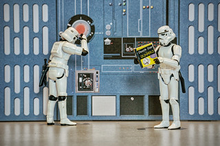 Studying for the Death Star driving license exam | by stephane delval