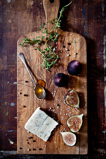 Fig & Gorgonzola Tartines | Ingredients for a little pre-din ...