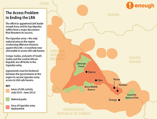LRA Access Map | by ENOUGH Project