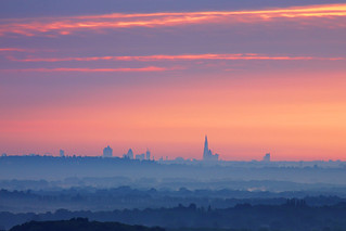 London Skyline from Hogs Back, Guildford | by craig.denford