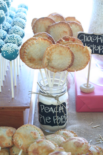 Peach Pie Pops | by Sweet Lauren Cakes