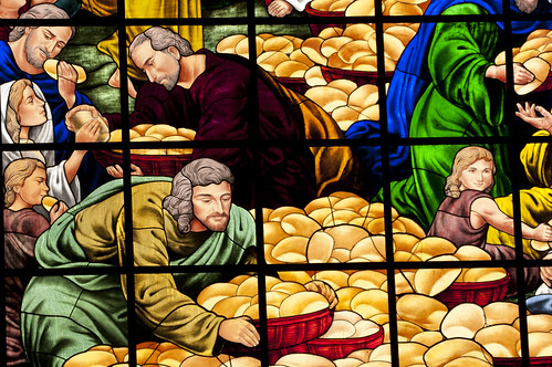 The Disciples gather the Bread