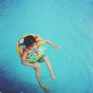 Summer swim | by April BrightBax