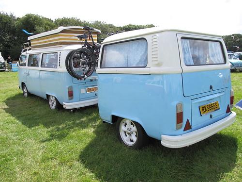 Blue Camper And Trailer Notputtingupshelves Flickr