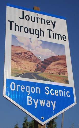 Journey Through Time Scenic Byway Sign (Grant County, Oregon) | by courthouselover