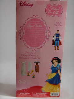 Snow White - 2011 Disney Princess Classic 12'' Doll - Back of Box | by drj1828