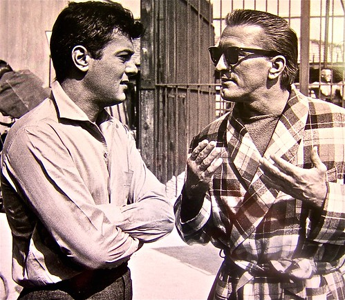 tony curtis and kirk douglas | by jayweston@sbcglobal.net