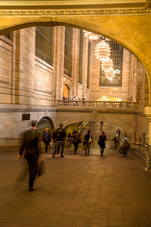 Grand Central Descent | by John A. Dryzga
