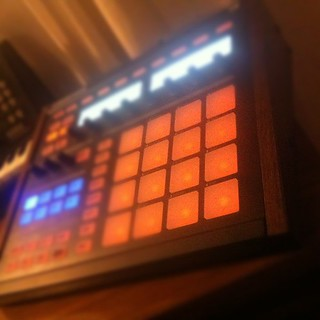 I just got wood sides for my Maschine . It looks all vintage now! | by Joey463
