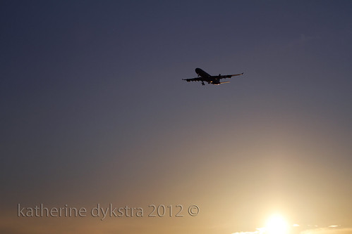 Sunset landing (YVR) | by K D Photos
