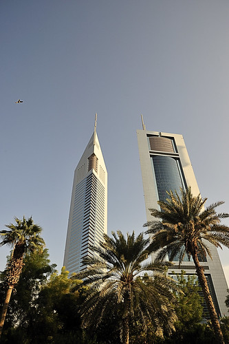 Emirates Towers and palms. | by XavierParis