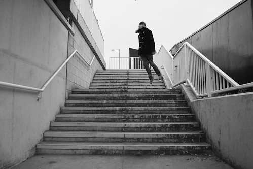 Subway Stripes and Stairs | by Reece, The Kid