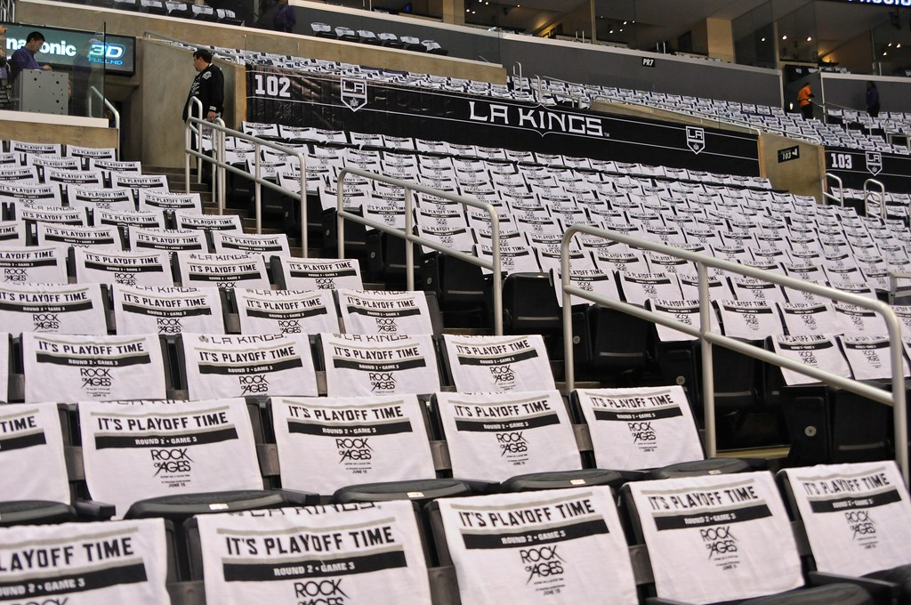 finest selection 6fdd0 f0f97 Staples Center Prior to LA Kings vs. St Louis Blues, May 3 ...