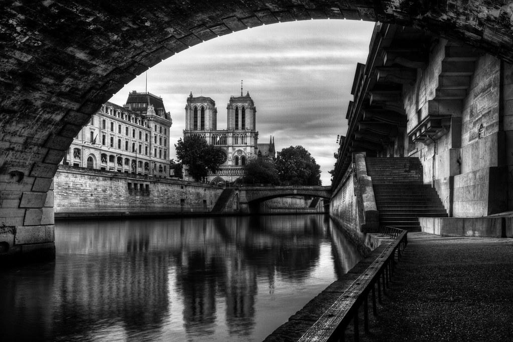 Souvent Le vieux Paris, Notre Dame et la Seine | Under the Saint Mic… | Flickr ZQ95