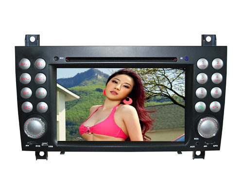 Car DVD Navigation with ATSC CAN Bus for Mercedes Benz SLK R171 | by brainf2012