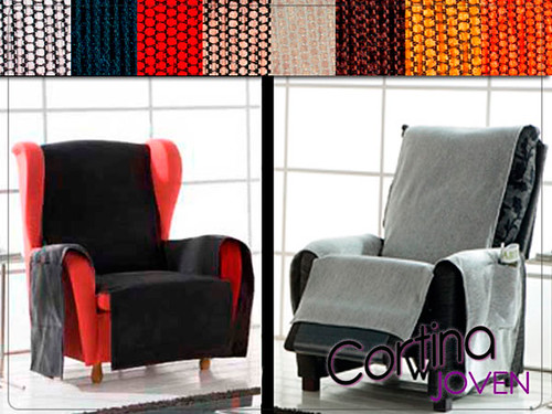 Fundas peiro orejero relax fundas para sillones orejeros for Fundas para sillones