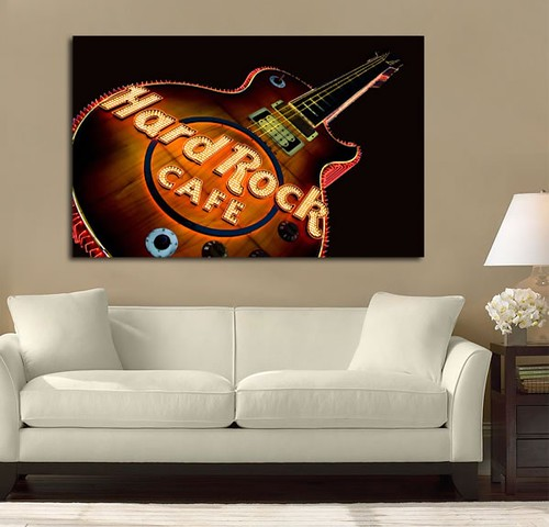 Hard Rock Cafe | by Simply Canvas Art