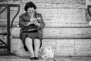 The reader | by Gianni Dominici