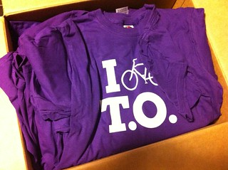 I Bike T.O. shirts! Packing them up for buyers! :) | by josephtravers