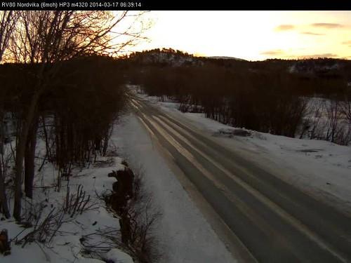 Scandinavian road webcams 17 March 2013