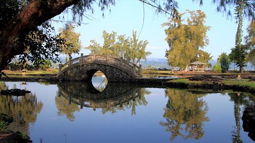 Bridge In Queen Liliuokalani Gardens In Hilo Hawaii Flickr