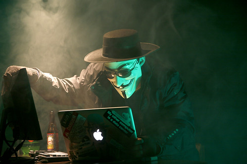Anonymous Hacker | by dustball
