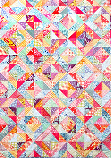 HST Warm Cool Quilt | by Sew Lovins
