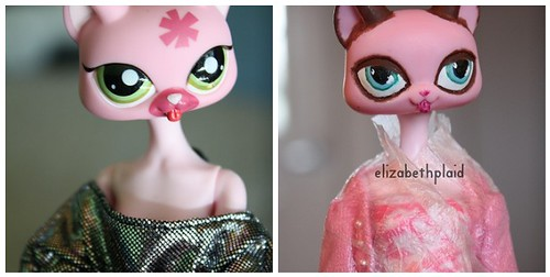 Before and After - Miska Mew Mew | by Elizabeth Plaid