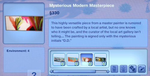 Mysterious Modern Masterpiece 3 | by SimsVIP