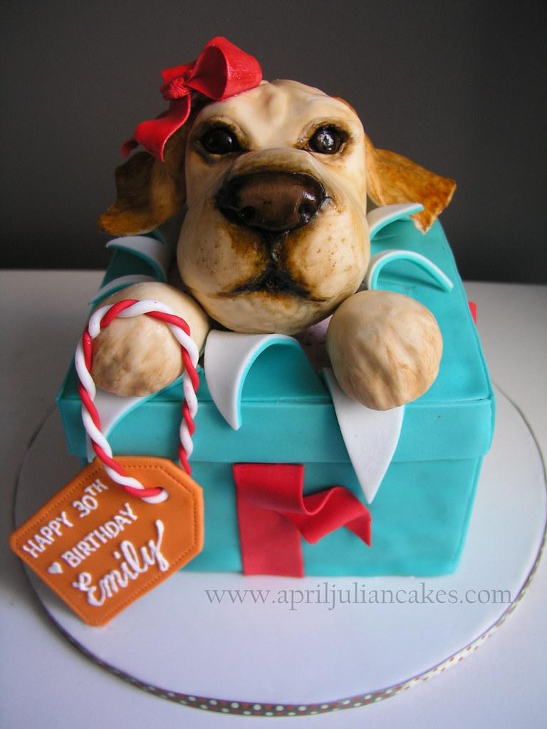 Puppy Birthday Cake For Emilys Big 3 0
