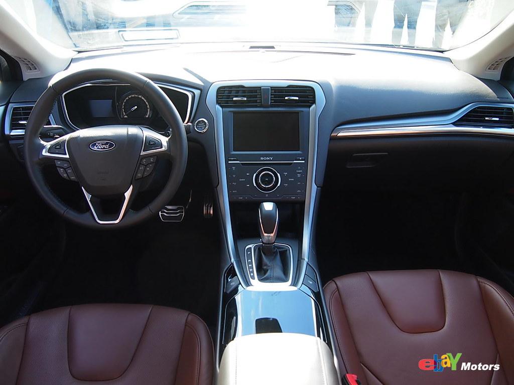 2013 ford fusion interior 2013 ford fusion ebaymotors flickr