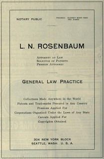 Rosenbaum, Patents and Trademarks Procured | by Rob Ketcherside