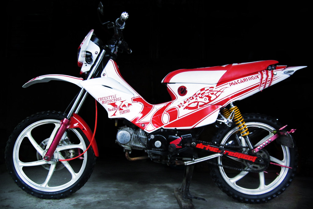 Pictures of Sticker Design For Motorcycle Xrm 125 - #rock-cafe