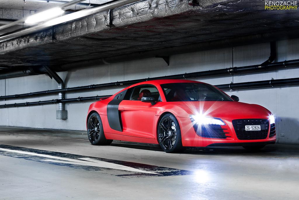 Carbon Matte Red  Carbon matte red Audi R8 Camera Canon EO  Flickr