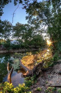 sharon creek sunset | by haglundc