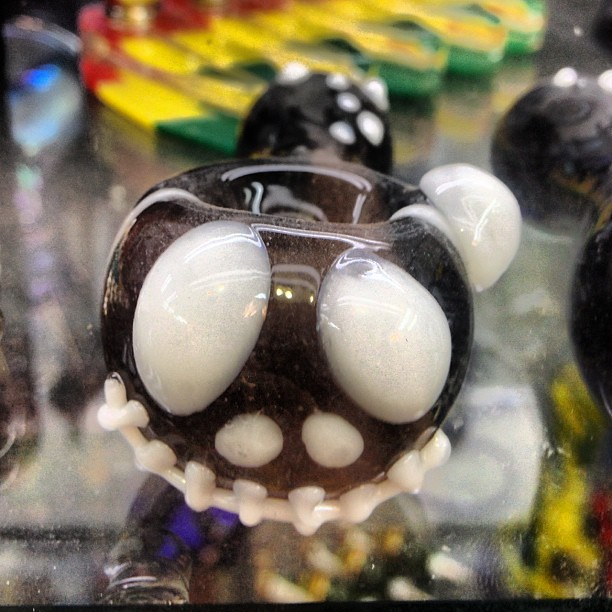 sweet nightmarebeforechristmas pipe in a bongshop near our hotel artsy bangin - Nightmare Before Christmas Pipe