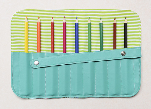 Stifte-Etui / Pencil Roll | by ellis & higgs