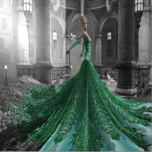 Bliss Couture: a touch of green | by ۞ мιѕѕ єℓℓє ۞