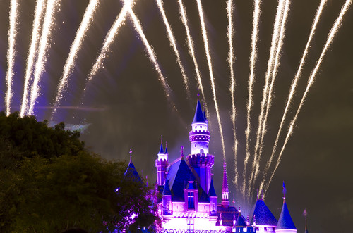 Fireworks over the Disneyland Castle | by San Diego Shooter