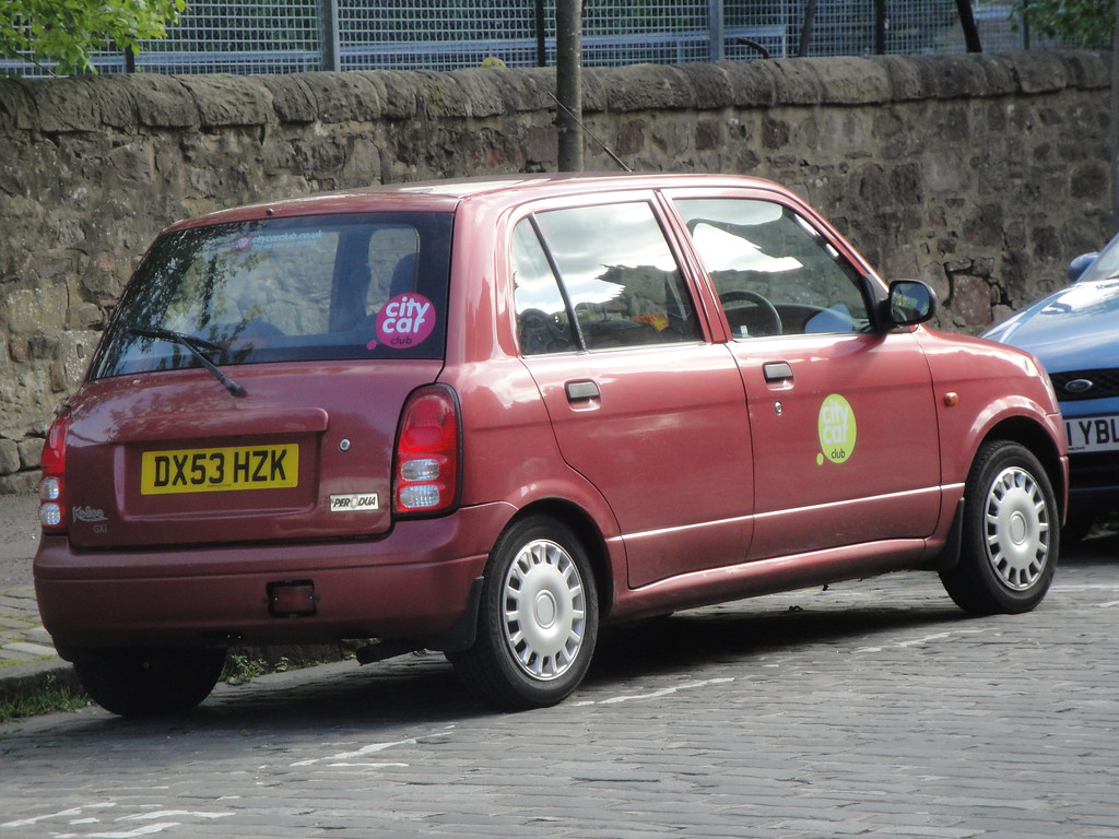 2003 Perodua Kelisa | One of the older cars in Edinburgh Cit… | Flickr